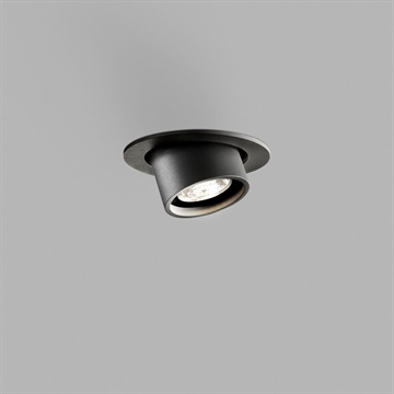ANGLE DOWNLIGHT 6W LED BLACK