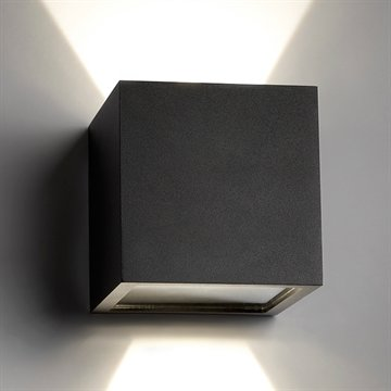 CUBE XL LED BLACK