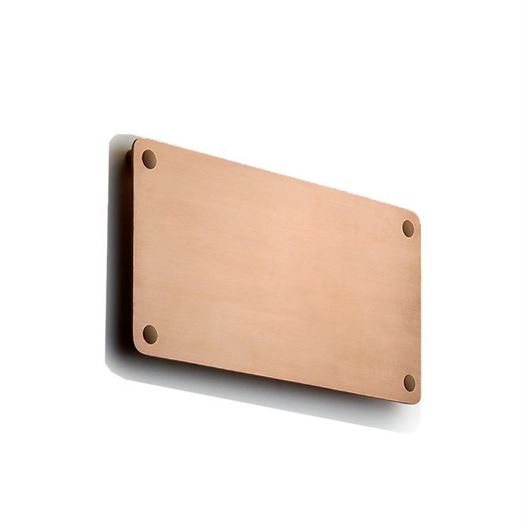 RØRHAT NAMEPLATE COPPER RAW