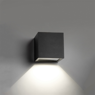 CUBE MINI DOWN LED BLACK